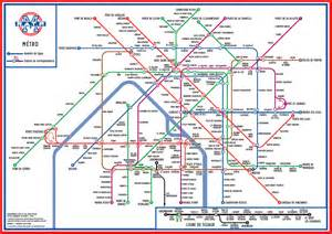 Paris Metro Map English by Tube Map Central Books Amp Posters