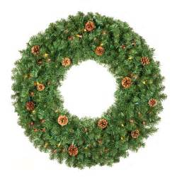 artificial christmas wreaths winchester fir prelit