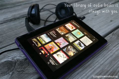 why we fell in with audio books from audible