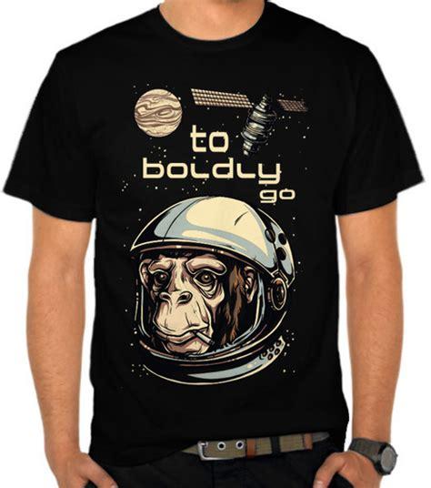 Kaos 3d Monkey jual kaos monkey astronaut 2 monyet satubaju
