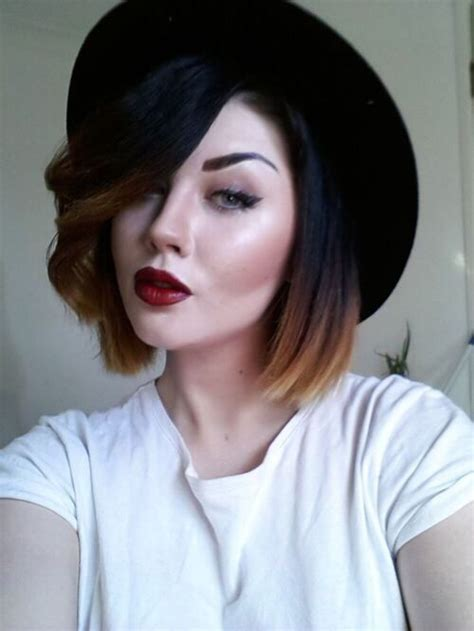 long bob with dipped ends hair best 25 dip dye bob ideas on pinterest short dip dye