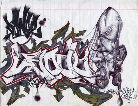 graffiti drawings  paper   grafiti makmu