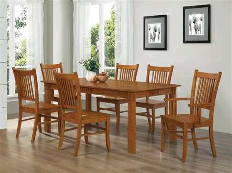 mission dining table set dining sets galleria furniture