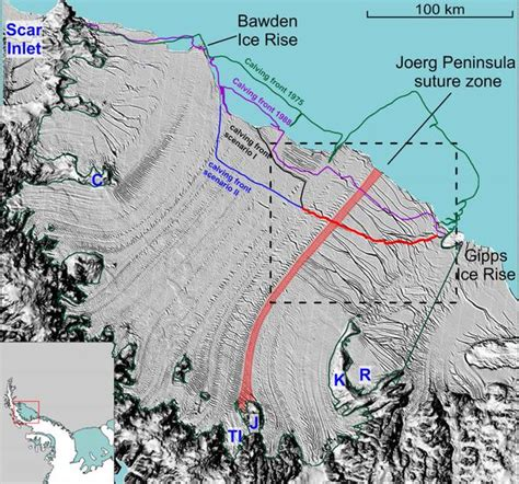 Larsen Shelf by Another To Antarctic Glacial Stability As Larsen C