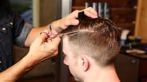 barber to cut s hair barbering haircut techniques looking sharp men s hair