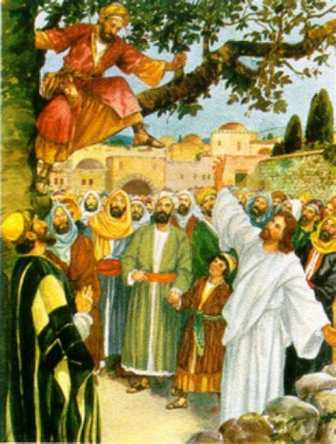 imagenes biblicas de zaqueo im 225 genes de jes 250 s y zaqueo imagenes de jesus fotos de