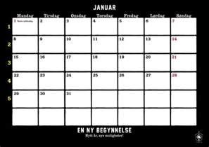 Kalender 2018 Norsk Karanba Kalender 2018