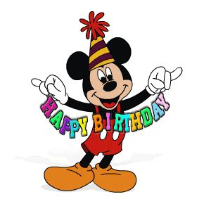 mickey mouse happy birthday images best greetings wonderful animated birthday greetings free
