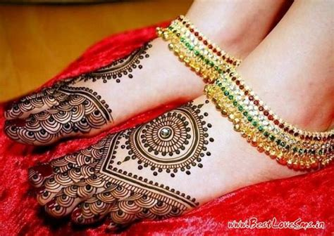 best designs beautiful bridal mehndi designs for legs stylish dulhan