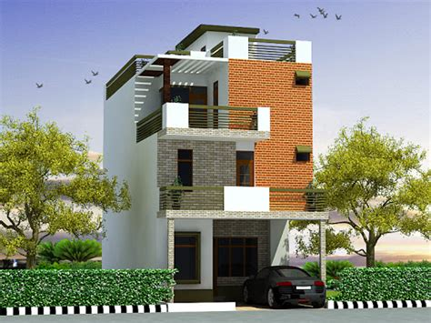 3 Floor House Elevation Designs Andhra The Best Wallpaper