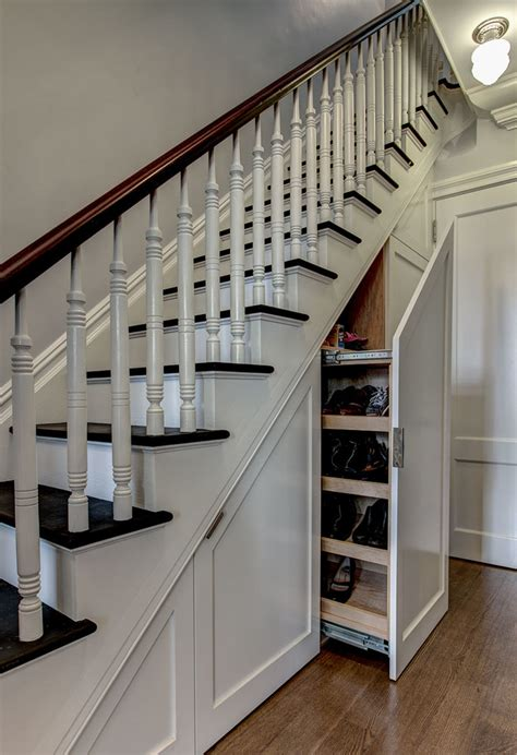 staircase ideas how to use the space under stairs as storage interior