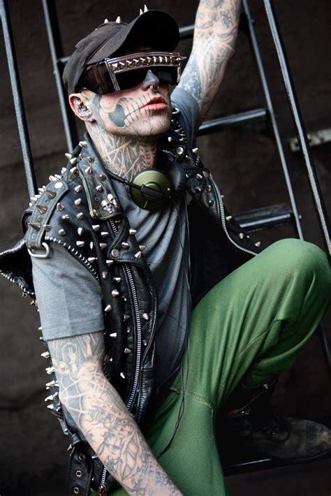rick rocks tattoo with rick genest the boy inspiration