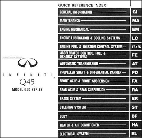car repair manuals download 2006 infiniti q electronic toll collection 1991 infiniti q45 repair shop manual original