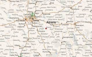 map of athens texas athens texas location guide