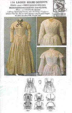 victorian pattern history 1860s day dress living history and period pieces