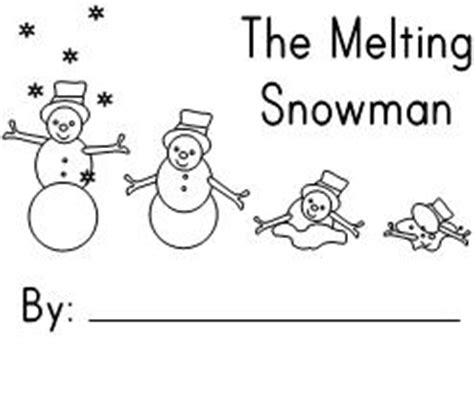 snowman reading coloring page fun learning printables for kids