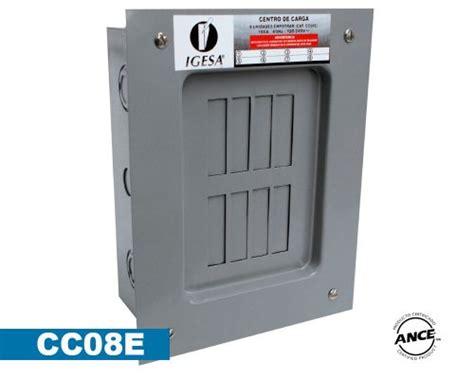 oficina zoom merida centro de carga 8 polos empotrar cc08e igesa