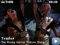 rocky horror picture show  video gallery