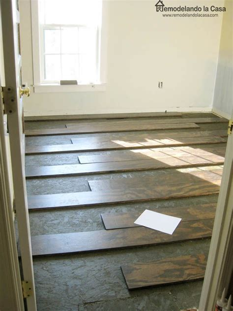 Plywood Floors Diy by 1000 Ideas About Plywood Floors On Stained