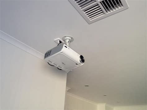 ceiling mounted projector home theatre redux sanders technology