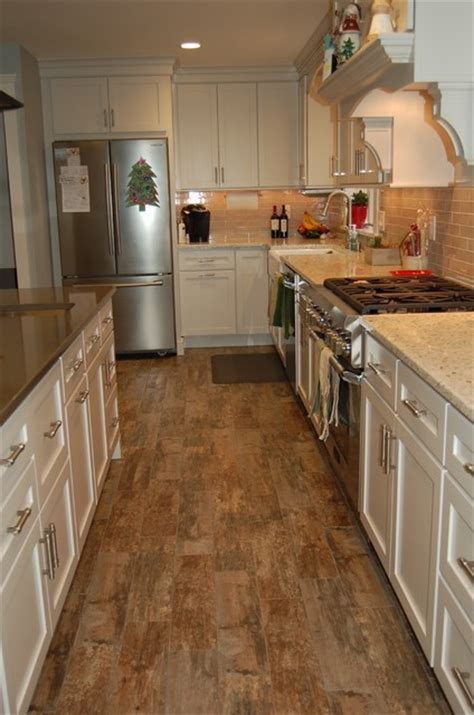 25 Best Bathroom Remodeling wood looking tile flooring in multicolor