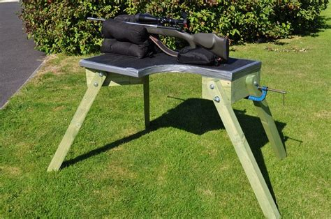 shooting bench plans portable diy plans shooters bench google search pinteres