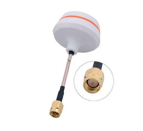 Antena Jamur 5 8 Ghz Circular Polarized Tx Rx Right Angle antenas antena cloverleaf 5 8ghz sma conector tx