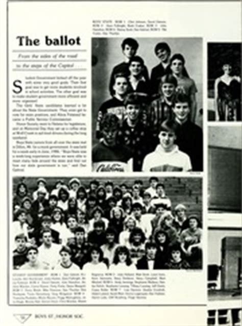 charles m high school russellog yearbook great