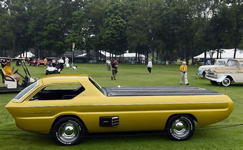 golden cars golden cars 1965 dodge deora concept