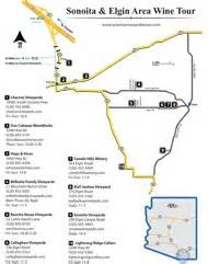 arizona vineyards map sonoita winery map arizona trip