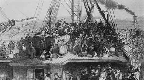 immigration boats 1800s tracing the story of tyrone famine victim jane cook bbc news