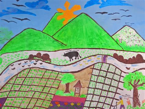 Creative Arts For Rural Development Card Project By