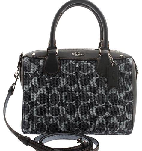 Tas Coach Mini Bennet Denim Original coach f57619 mini bennet light denim satchel on sale 43 satchels on sale