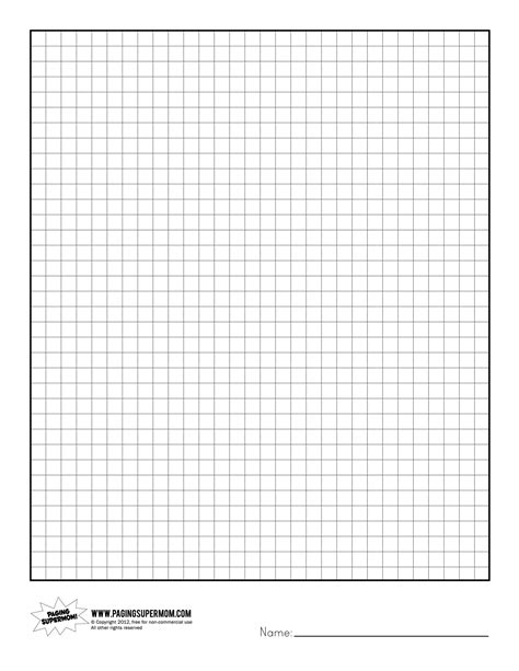 printable graph paper notebook printable graph paper paging supermom healthy eating