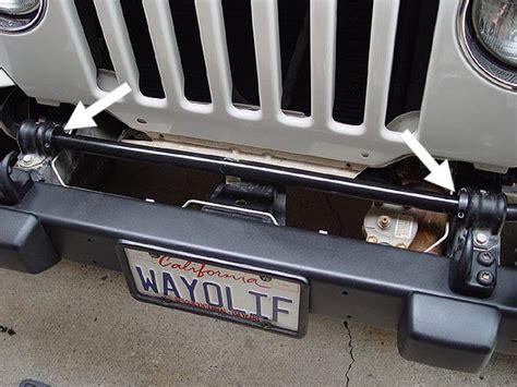jeep stabilizer bar jeep swaybar shifting fix