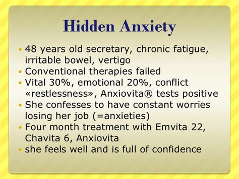 Fatigue Emotional Detox by Adrenal Fatigue And Chronic Fatigue Patients