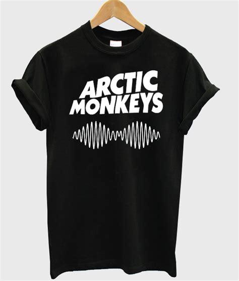 Tshirt Arctic Monkey Black arctic monkeys logo t shirt