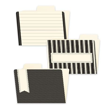 Supplier 4th Bag In Bag Isi 6 Pcs Murah 4x6 file folders black and ivory canvas corp brands