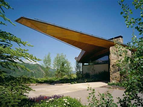 organic house plans alpine house طراحی ویلای کوهستانی در آسپن کولورادو آرل