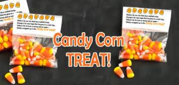 candy corn treat bag topper