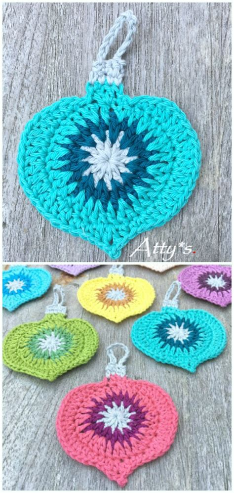 diy crochet christmas ornament  patterns
