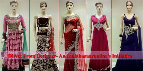 designer pics direct from designer an initiative by indiabazaaronline indian fashion mantra