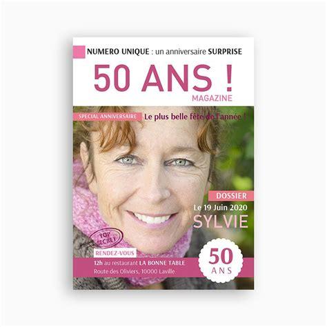 modele invitation anniversaire 50 ans invitation
