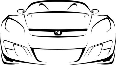Automobile Outline Clip car outline clipart best