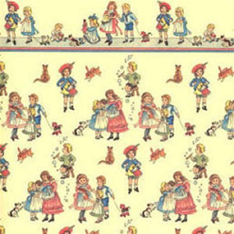 Pink Floral Curtains Vintage Nursery Wallpaper Wallpaperhdc Com