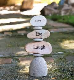 live love laugh live love laugh stepping stones