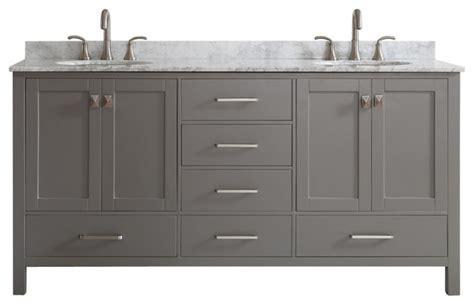 Modern Bathroom Vanities Without Sinks Gela Vanity With Carrara Marble Top 72 Quot Modern