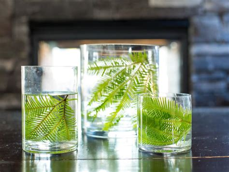 Real Simple Ideas For Simple Glass Vases By How To Decorate A Glass Vase Hgtv