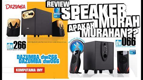 Speaker Dazumba Dw 367 review speaker bluetooth dazumba dw266 dan dw066 indo