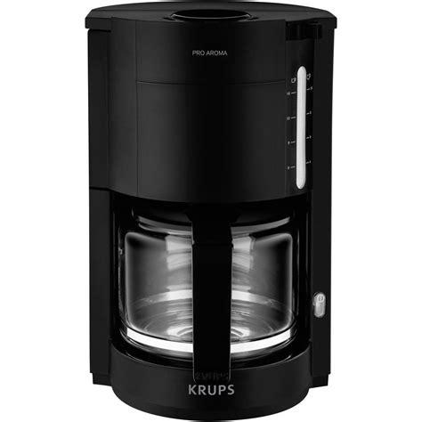 Coffee Maker Krups coffee maker krups proaroma black cup volume 15 from conrad